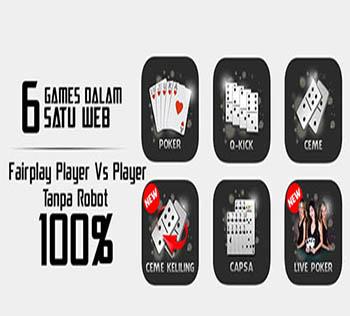 6 Permainan dalam 1 ID