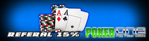 Poker Bonus referal 15%