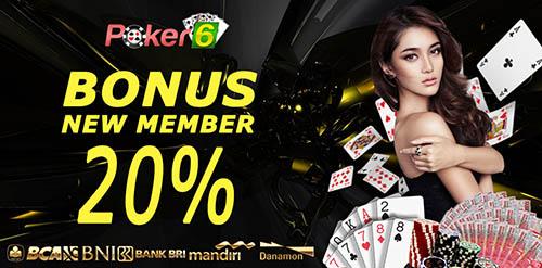 POKER-6 Situs Poker Online terpercaya